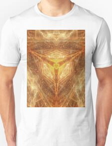 Sacred Geometry 04 - Psychedelic Cube Unisex T-Shirt