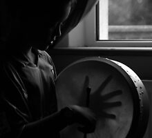 Bodhrán Boy by Anima Fotografie