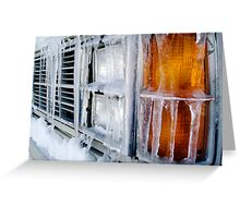 Bumper Icicles Greeting Card