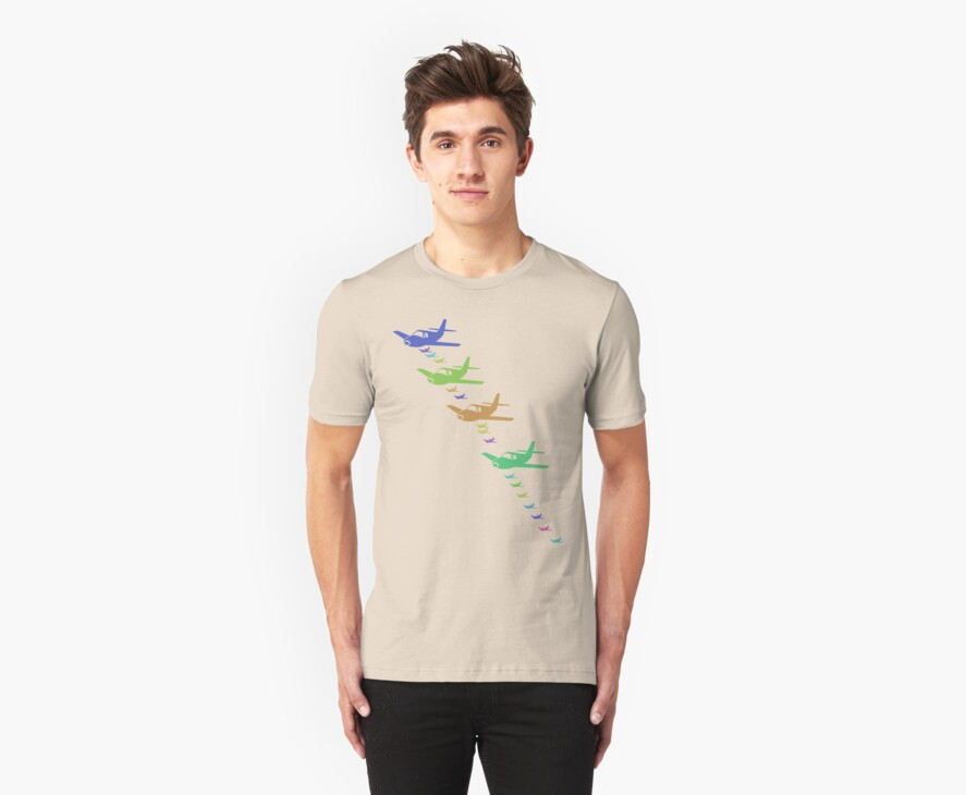 Vintage Airplane T-Shirt by simpsonvisuals