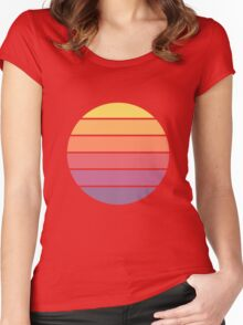 Colors of the Sun Women's Fitted Scoop T-Shirt