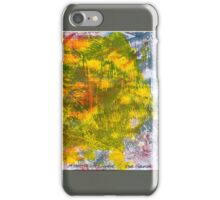 ABSTRACT GEL MONOPRINT iPhone Case/Skin