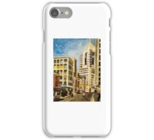 DOWNTOWN PITTSBURGH ACRYLIC PAINTING iPhone Case/Skin