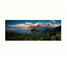 Table Mountain Panorama Art Print
