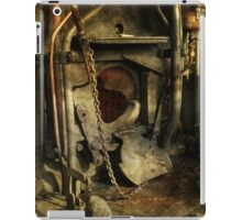 Steam Engine Furnace iPad Case/Skin