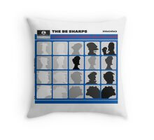 The Be Sharps - Goodbye Coney Island Baby Throw Pillow