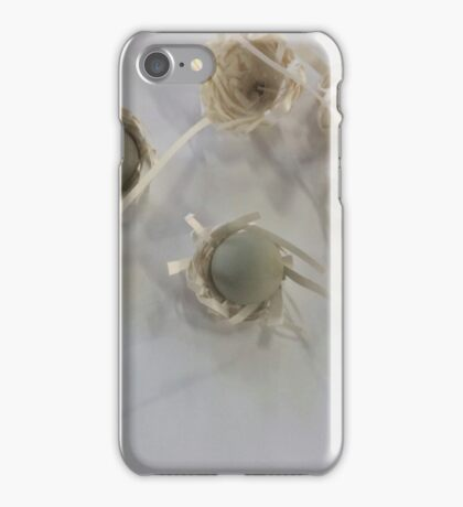 computer mouse nests made of paper iPhone Case/Skin