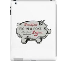 Pig 'n a Poke iPad Case/Skin