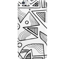 Stoudamire Abstract Expression Black and White iPhone Case/Skin