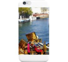 Love locks in Paris iPhone Case/Skin