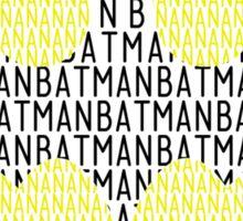 Na Na Na Na Na Na Batman Sticker