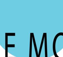 Blue Moon Detective Agency Sticker