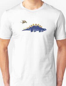 Dinosaur Tshirt Stegosaurus & Pterodactyl T-Shirt