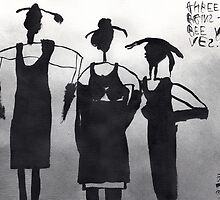 Three Virgins Three Wives No. 6 by ReBecca Gozion