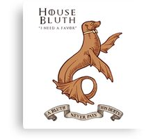 Bluth Family Seal Canvas Print