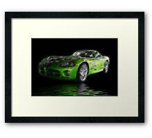 Viper Impression Framed Print