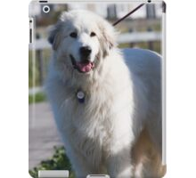 Well-trained Great Pyrenean Mountain Dog iPad Case/Skin