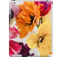 Happiness is a bed of tulips iPad Case/Skin