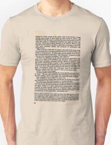 Random Text 'Kandinsky - On the Spiritual in Art' T-shirt etc.... T-Shirt