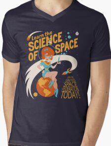 United Space Federation Mens V-Neck T-Shirt