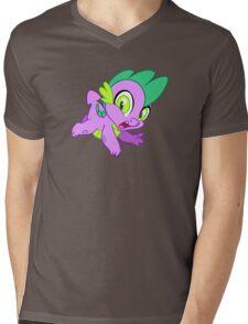 Spike Mens V-Neck T-Shirt