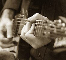 Guitar Frets by Colleen Drew