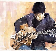 Jazz Rock John Mayer 02 by Yuriy Shevchuk