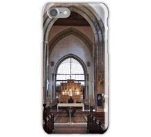 The Church of England end of the Church. iPhone Case/Skin