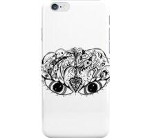 Eyes Mask Aussie Tangle  iPhone Case/Skin