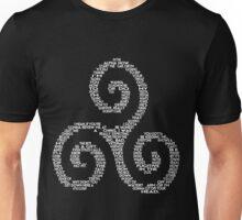 "Derek ""Quotes"" Triskelion Unisex T-Shirt"