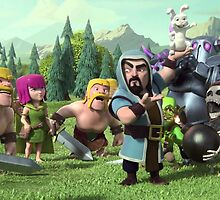 Clash of Clans Awesome Art by SXArtist