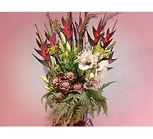 *Beautiful Bouquet at Luncheon* Photographic Print