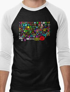 BBC Micro Heroes Men's Baseball ¾ T-Shirt