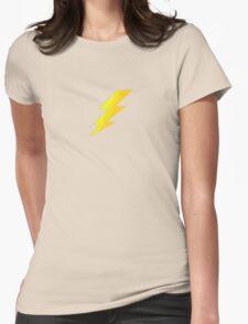 Lightening Bolt Super Character Cartoon T-Shirt Duvet Womens Fitted T-Shirt