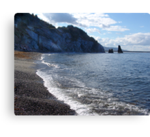 Pilar Rock, Cabot Trail Canvas Print