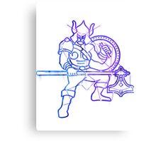 Elder scrolls - Warrior sign Metal Print