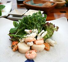 Seafood by the sea by helenrose