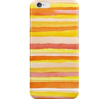 Hot colors abstract lines iPhone Case/Skin