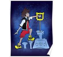 The Keyblade In The Stone Poster