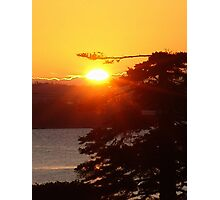 Sunrise at Black Point Photographic Print