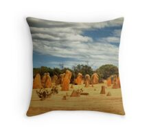 The Pinnacles, Cervantes, Western Australia #7 Throw Pillow