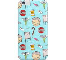 House MD Kawaii Pattern iPhone Case/Skin