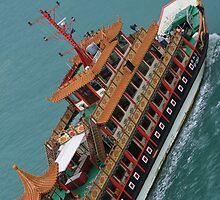 Singapore boat by helenrose