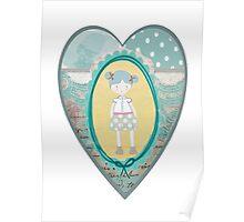 Carlalluna Sara Girl Poster
