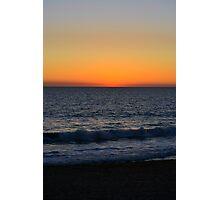 Sunset Scarborough Beach WA 3 Photographic Print