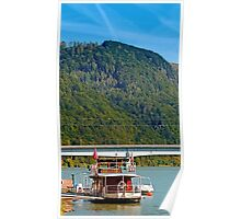 Danube river boat | travel photography Poster