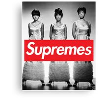 Supreme - The Supremes Canvas Print
