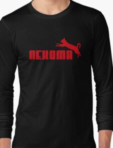 Nekoma - Red  Long Sleeve T-Shirt