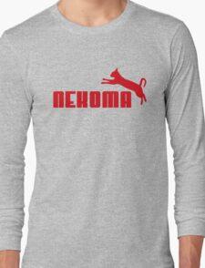 Nekoma - Red  Long Sleeve T-Shirt