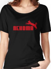 Nekoma - Red  Women's Relaxed Fit T-Shirt